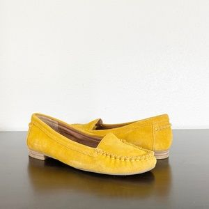 Lucky Brand Mustard Yellow Loafer Size 8